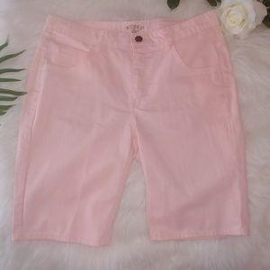 🎀Riders by Lee pink Bermuda shorts